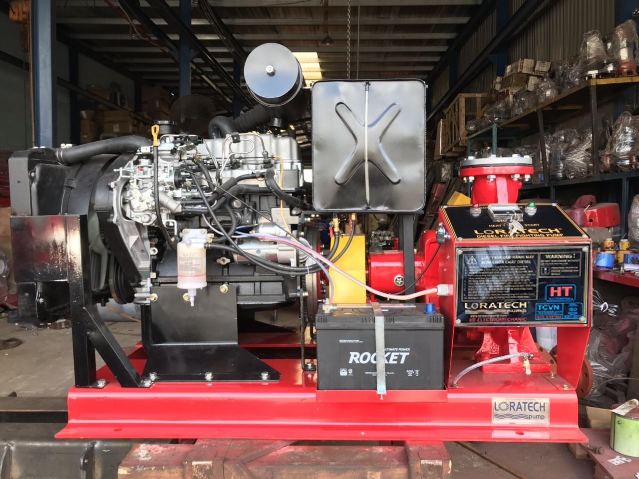 Máy bơm Diesel Hyundai 20 Hp - Đầu bơm Loratech LRA 50 - 250C